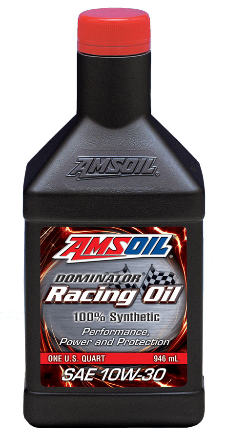 Amsoil Dominator Synthetic 10w 30 Racing Oil Rd30